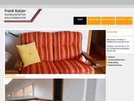 Website von Frank Katzer Polsterei
