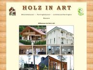 Website von Wolfgang Luetke Holz in art