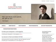 Website von Rechtsanwalt Gunther Schnerwitzki