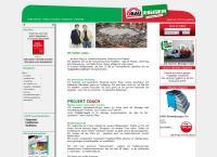 Website von ÖBAU EGGER BAULAND- BAUSTOFFHANDEL GESELLSCHAFT M.B.H.