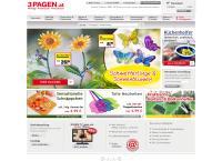 Website von 3 PAGEN HANDELSGESELLSCHAFT MIT BESCHRÄNKTER HAFTUNG