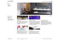 Website von LAUFEN AUSTRIA AG