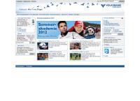 Website von MARCHFELDER VOLKSBANK REGGENMBH