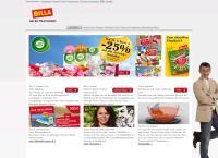 Website von BILLA AG