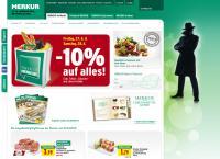 Website von MERKUR MARKT