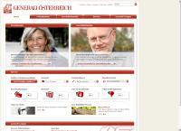 Website von GENERALI VERSICHERUNG AG