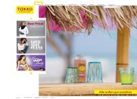 Website von TAKKO MODEMARKT GMBH