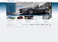Website von PAPPAS AUTOMOBILVERTRIEBS GMBH