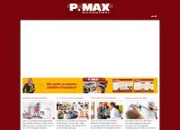 Website von P. MAX MASSMÖBEL
