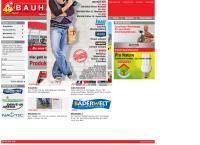 Website von BAUHAUS DEPOT GMBH