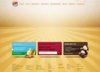 Website von BURGER KING RESTAURANT