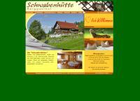 Website von BERGGASTHOF SCHWABENHÜTTE