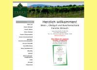 Website von WEINGUT UND BUSCHENSCHANK  STRAUCH