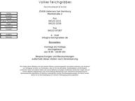 Website von Rechtsanwalt Volker Teichgräber