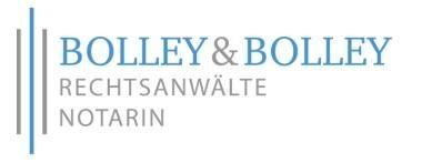 Thomas Bolley Rechtsanwalt und Notar