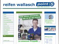 Website von Reifen Wallasch