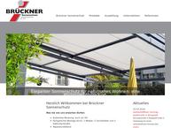 Website von Brückner Gerfried Rolladen Jalousien