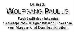 Dr. Med. Wolfgang Paulus