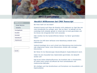 Website von Übersetzungsbüro Christa Abrahams