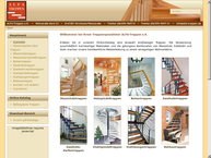 Website von Kessler & Kessler - Treppen GbR