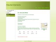 Website von HAUTARZTPRAXIS DR. JANA HÖHNE