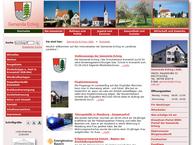 Website von Gemeinde Eching