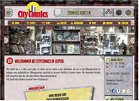 Website von City Comics GbR