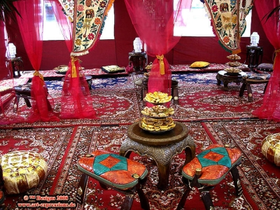 Orientalische highlights exklusive orientalische event - Shisha bar dekoration ...