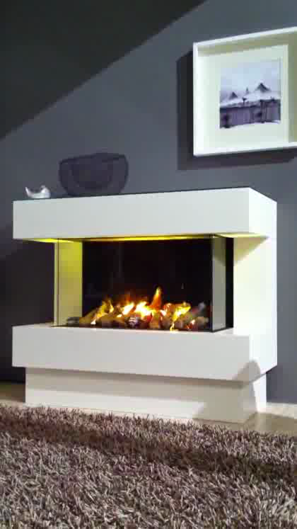 Elektrokamin Faber Opti-Myst CONCEPT nr.4 EL  . . 3D-Kamin macht Feuer aus Wasser