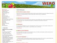 Website von Wero GmbH
