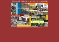 Website von Dessauer Steinmetz Werkstaetten GmbH