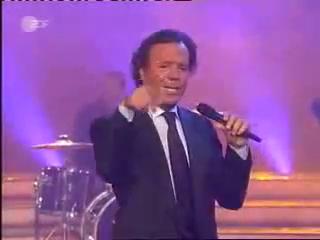 Yovko mit Julio Iglesias-C. Nebel-Show-ZDF 20.3.04