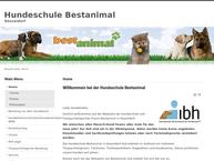 Website von Hundeschule Bestanimal