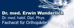 Dr. med. Dipl. Phys. Erwin Wunderlich Dr. med. habil. - Facharzt für Orthopädie
