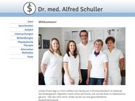 Website von Dr.med. Alfred Schuller
