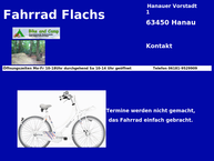 fahrrad flachs