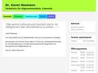 Website von Dr. Med. Karen Neumann