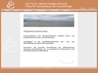 Website von Dipl. Psych. Gabriele Poettgen-Havekost - Praxis Für Psychoanalyse und Psychotherapie