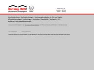 Website von Roth Carl August GmbH Dachdeckerei Spenglerei