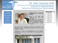 Website von Dr. Med. Andreas Huth