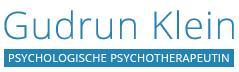 Gudrun Klein, Psychologische Psychotherapeutin