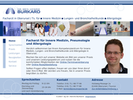 Website von DR. MED. HENRIK BURKARD