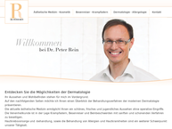 Website von Dr. Med. Peter Rein