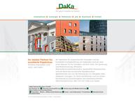 Website von Daka Kalenik  Baudeco GmbH