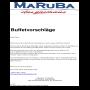 Maruba - Das Gasthaus - Buffetvorschläge Buffetvorschläge