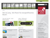 Website von Herz & Lang