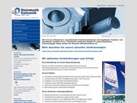 Website von Reinmuth Galvanik Hr GmbH