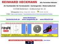 Website von Reinhard Heckmann