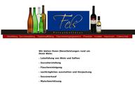 Website von Fels GmbH