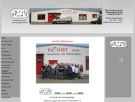 Website von Gisy Zerspanungs & Werkzeugbau GmbH